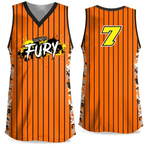 Custom Sublimated Elite Small Town USA FP Jersey Tank