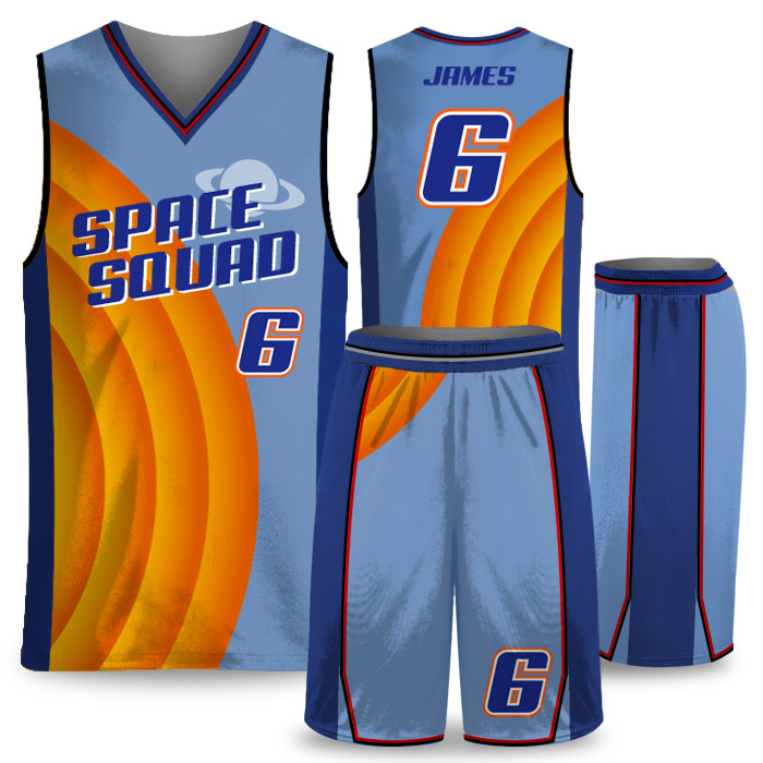 Elite Space Squad basketball uniform