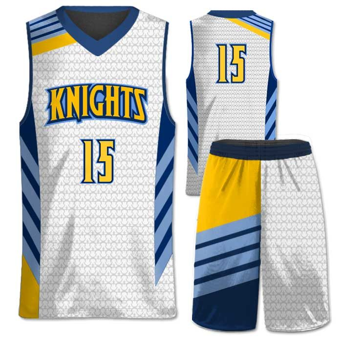 Elite Super Arrow Custom Basketball Uniform