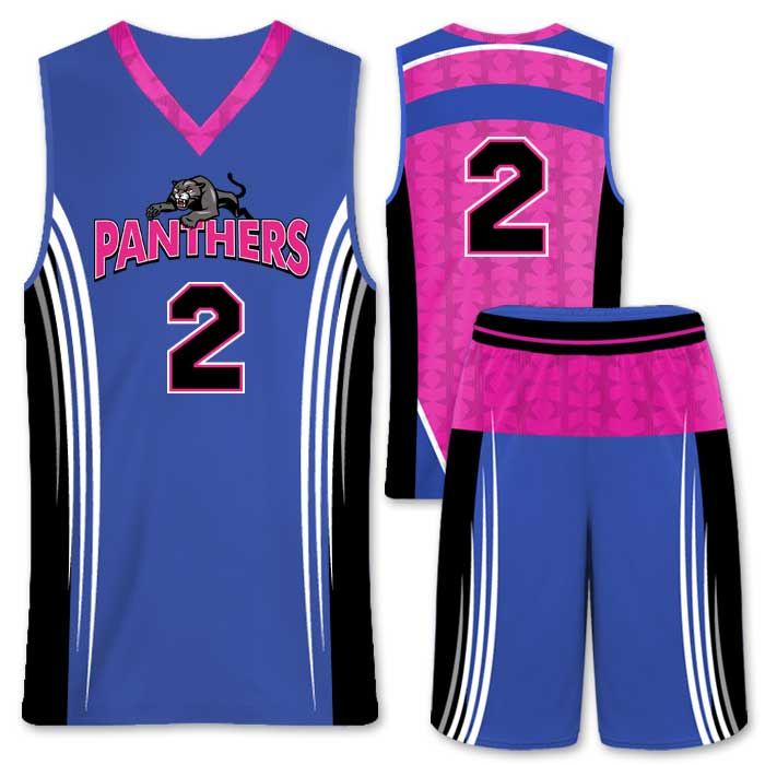 Elite Supernova Custom Basketball Uniform