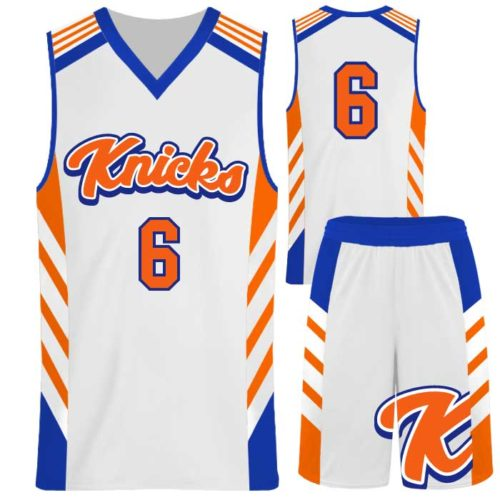 Custom Sublimated Elite Symmetry Basketball Uniform