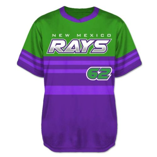 Custom Sublimated Elite Throwback BB Jersey SS No-Button
