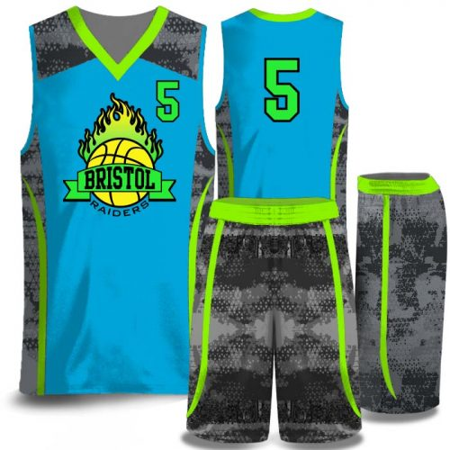 Full-color Elite Transformer sublimated basketball uniform