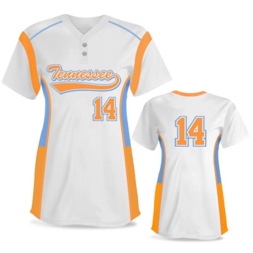 Custom Sublimated Elite Triple Play FP Jersey SS 2-Button