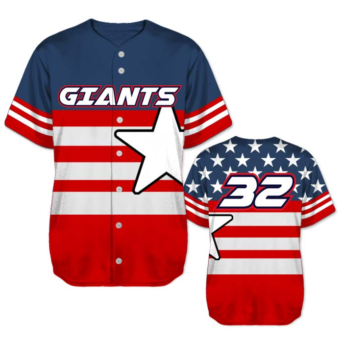 This is the Elite United We Stand Baseball Jersey