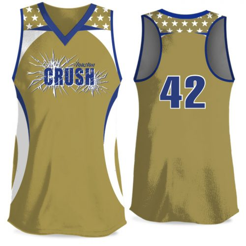 Custom Sublimated Custom Sublimated Elite We the People FP Jersey Racerback