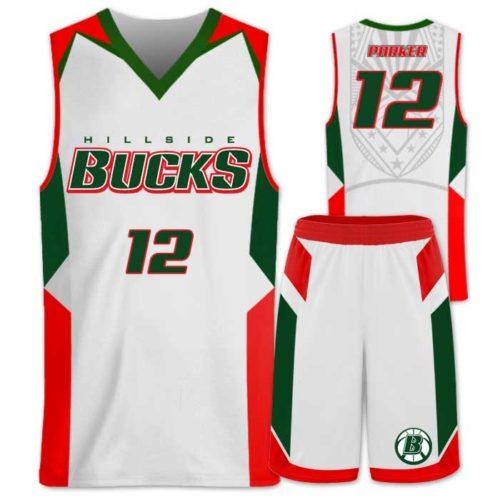 Elite Wildcat Custom Basketball Uniform