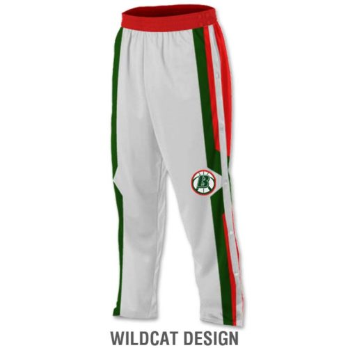 Custom Sublimated Elite Basketball Tearaway Pants