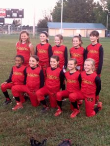 Flamez Fastpitch Spreading Cheer