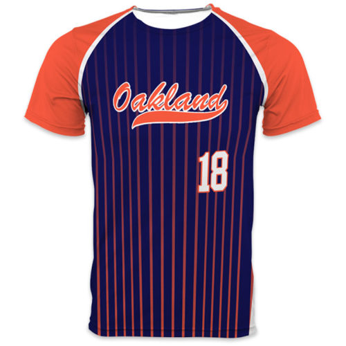 Spectrum Flash Mustang Baseball Jersey