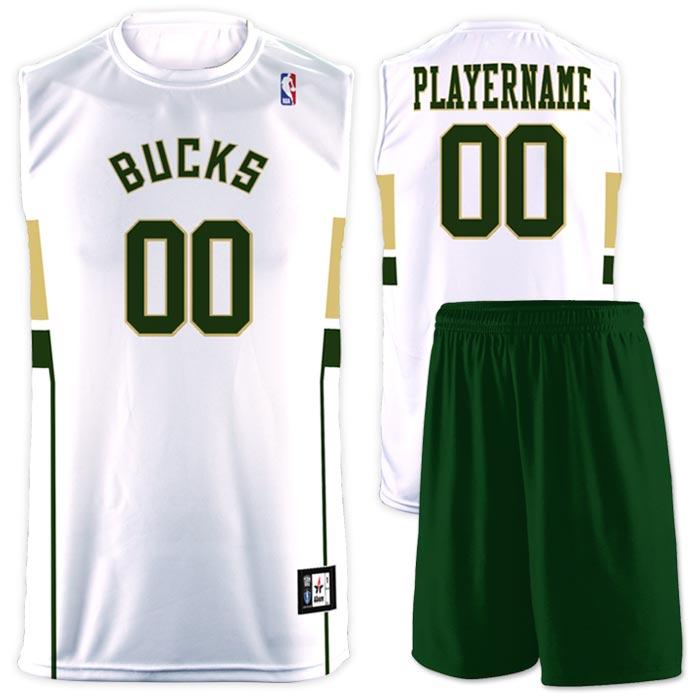 Flash NBA Replica Basketball Jersey Bucks