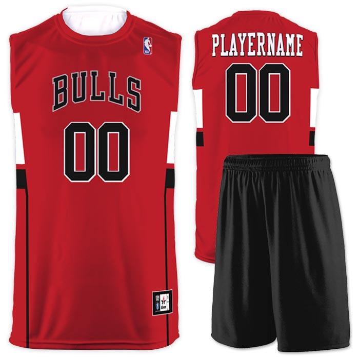 Flash NBA Replica Basketball Jersey Bulls