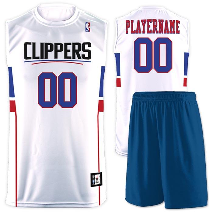 Flash NBA Replica Basketball Jersey Clippers