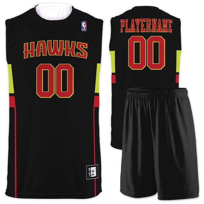Flash NBA Replica Basketball Jersey Hawks