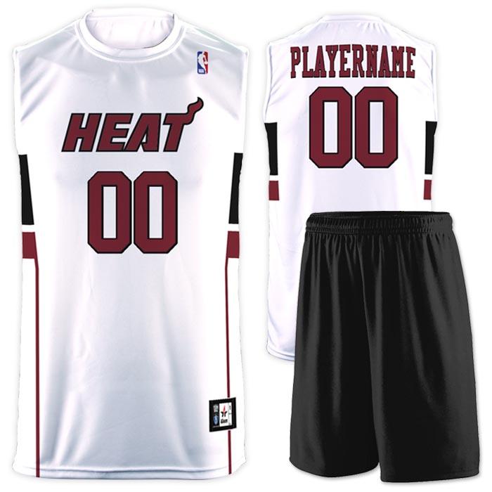 Flash NBA Replica Basketball Jersey Heat
