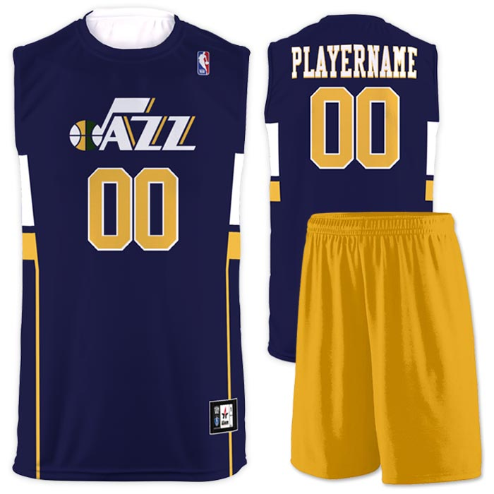 Flash NBA Replica Basketball Jersey Jazz