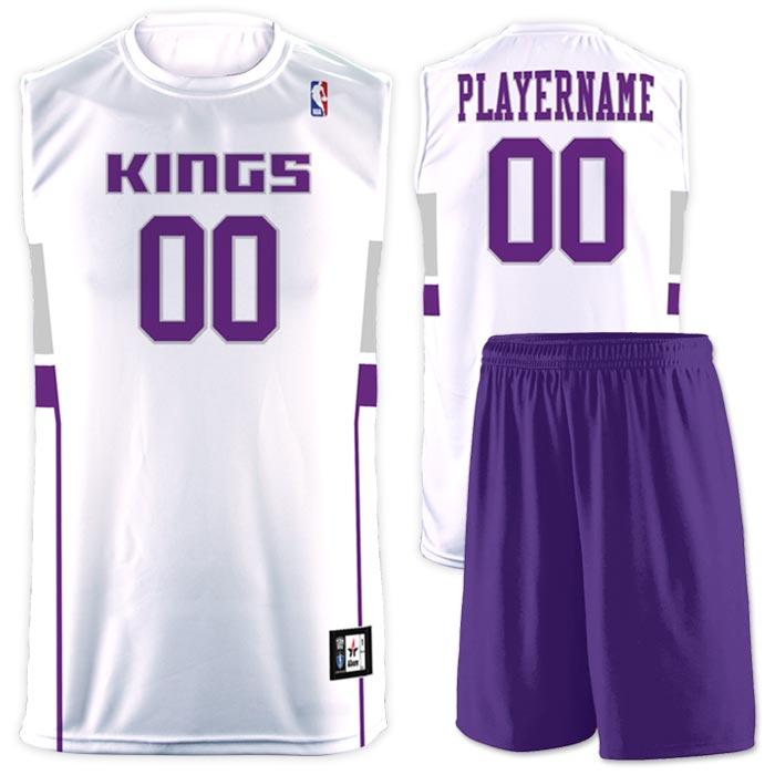Flash NBA Replica Basketball Jersey Kings