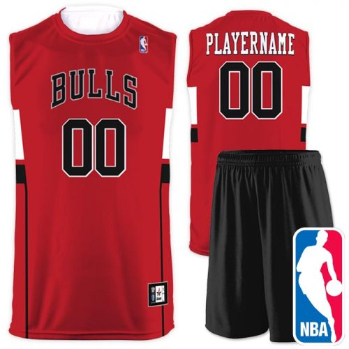 Flash NBA Replica Basketball Jersey Bulls
