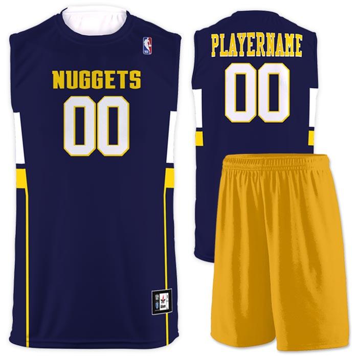 Flash NBA Replica Basketball Jersey Nuggets