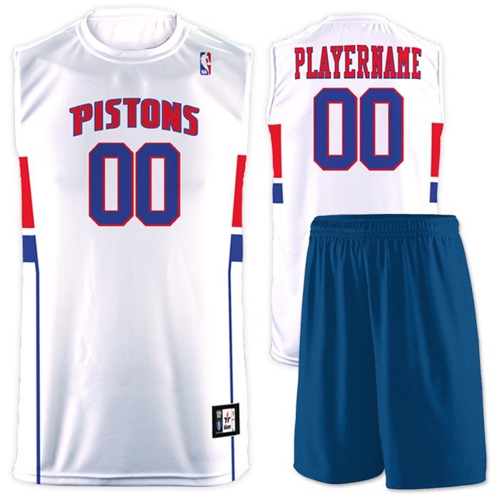 Flash NBA Replica Basketball Jersey Pistons