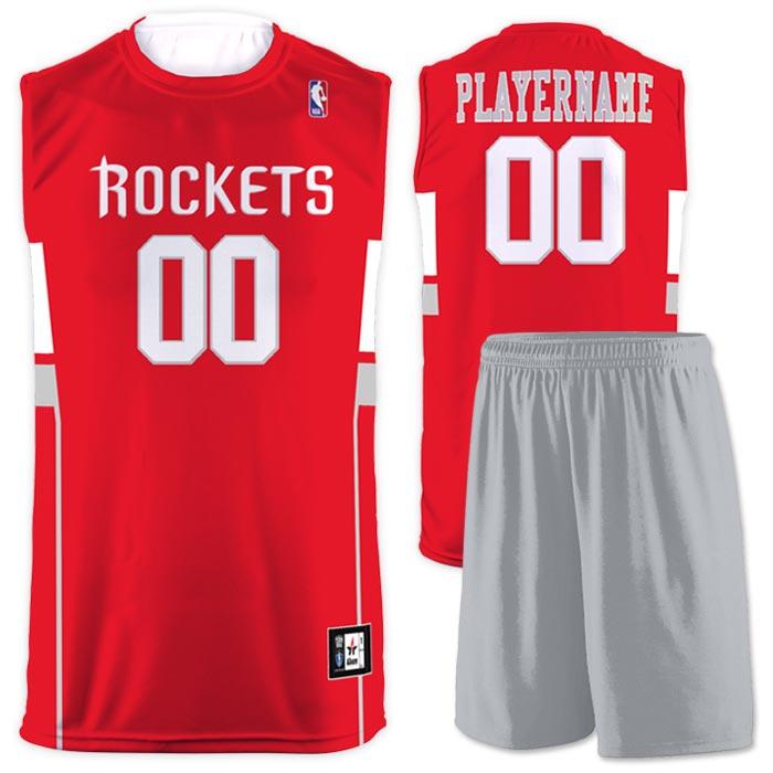 Flash NBA Replica Basketball Jersey Rockets