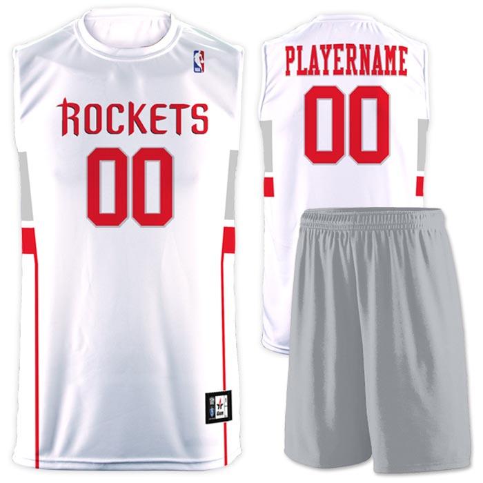 Flash NBA Replica Basketball Jersey Rokets