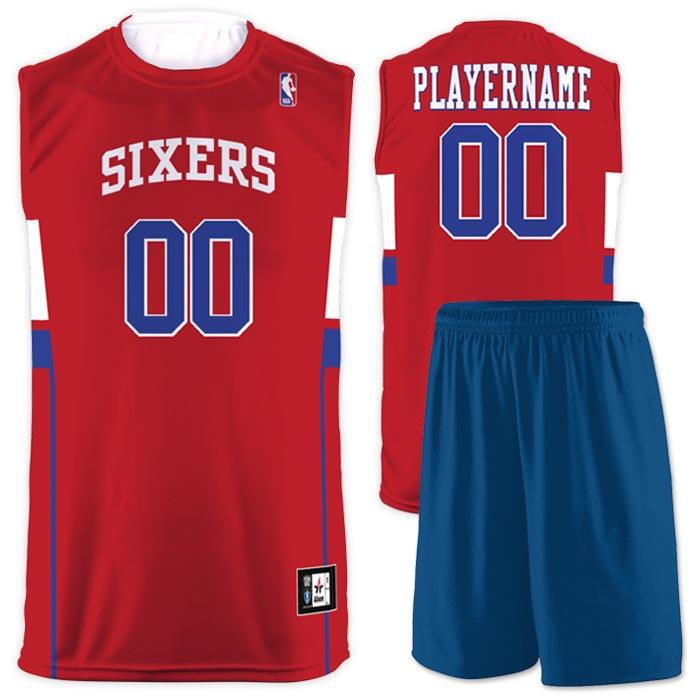 Flash NBA Replica Basketball Jersey Sixers