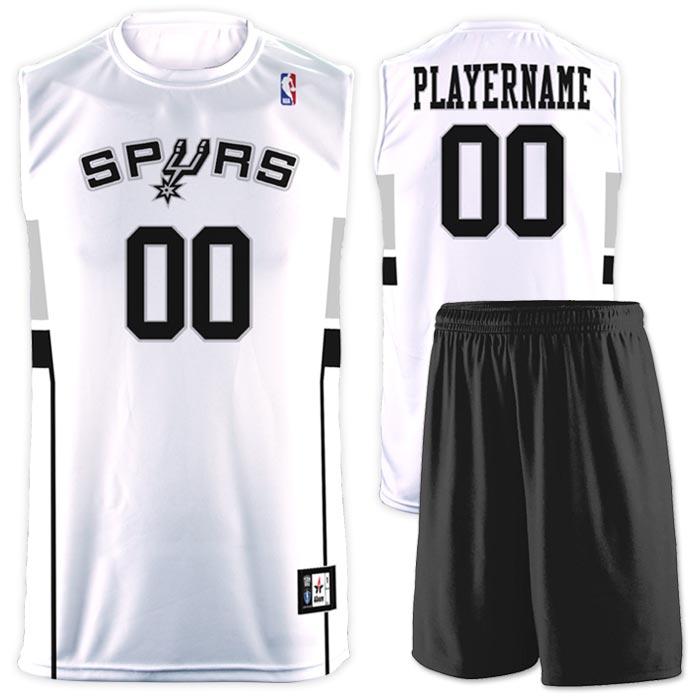 Flash NBA Replica Basketball Jersey Spurs