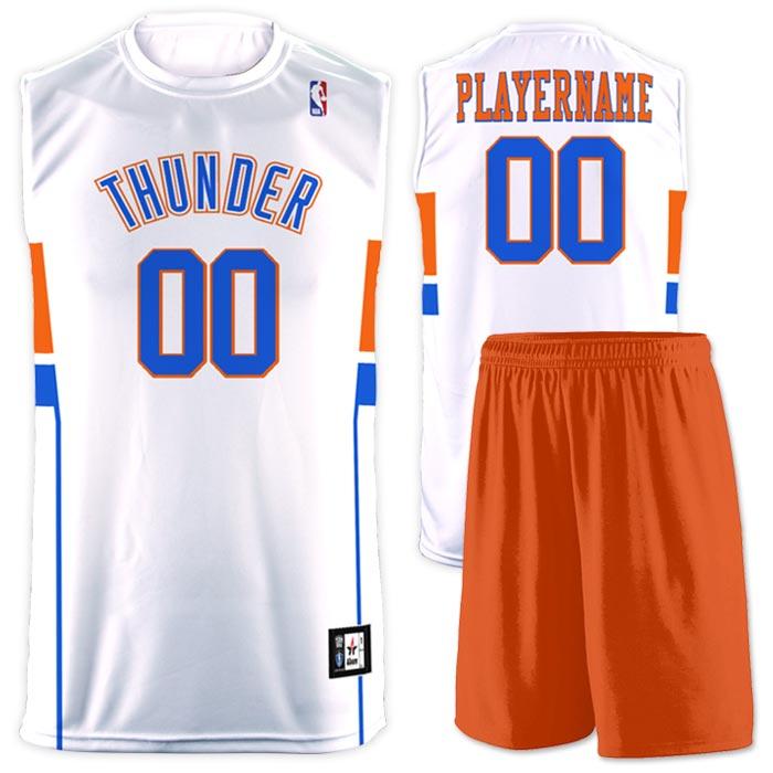 Flash NBA Replica Basketball Jersey Thunder