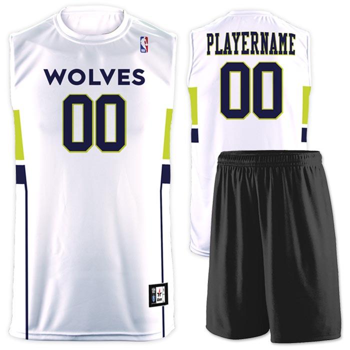 Flash NBA Replica Basketball Jersey Wolves