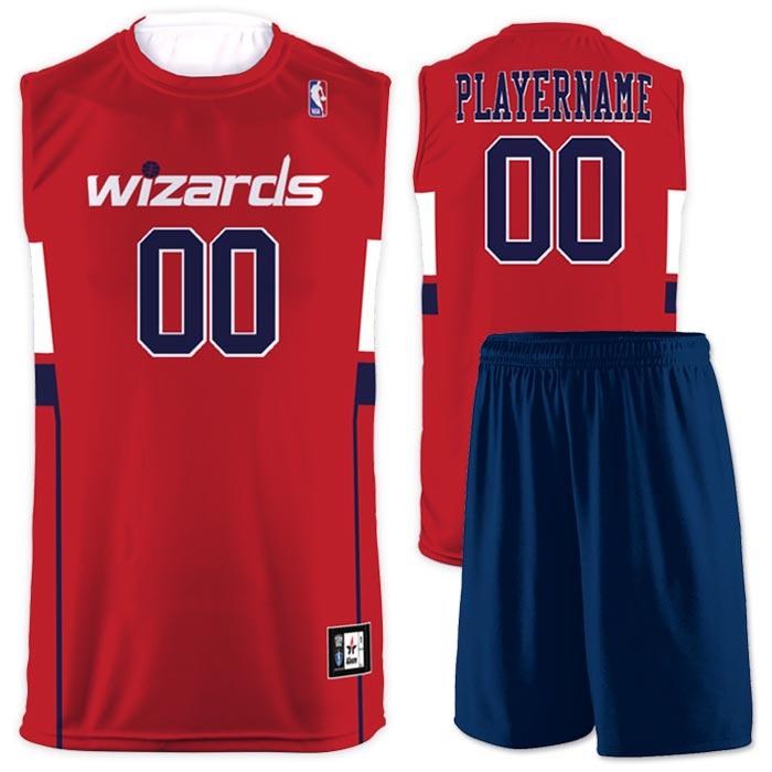 Flash NBA Replica Basketball Jersey Wizards