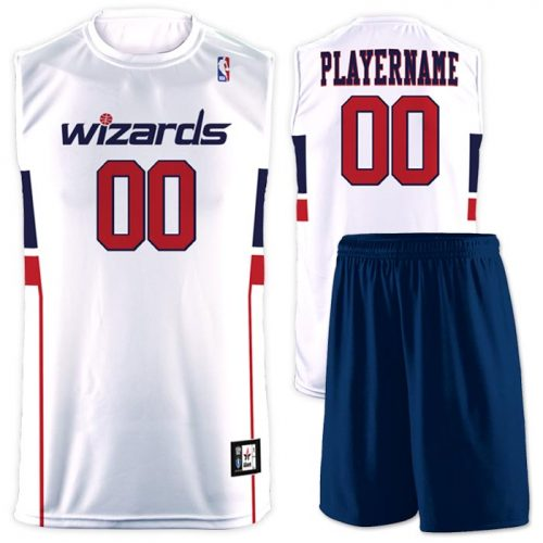 Flash NBA Replica Basketball Jersey Wizards
