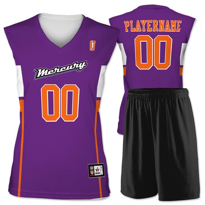 Flash WNBA Replica Basketball Jersey Mercury