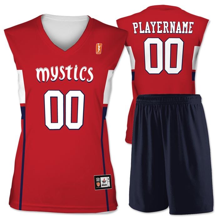 Flash WNBA Replica Basketball Jersey Mystics