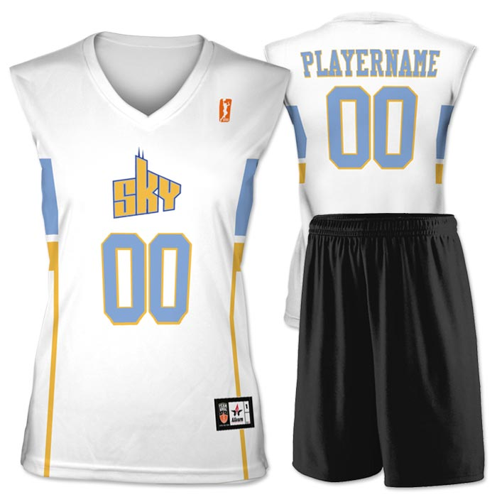 Flash WNBA Replica Basketball Jersey Sky