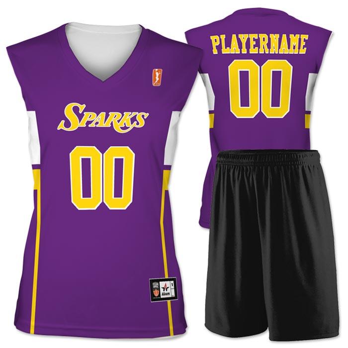 Flash WNBA Replica Basketball Jersey Sparks