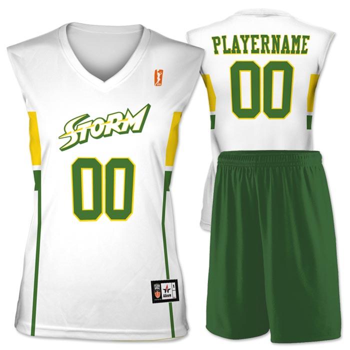 Flash WNBA Replica Basketball Jersey Storm