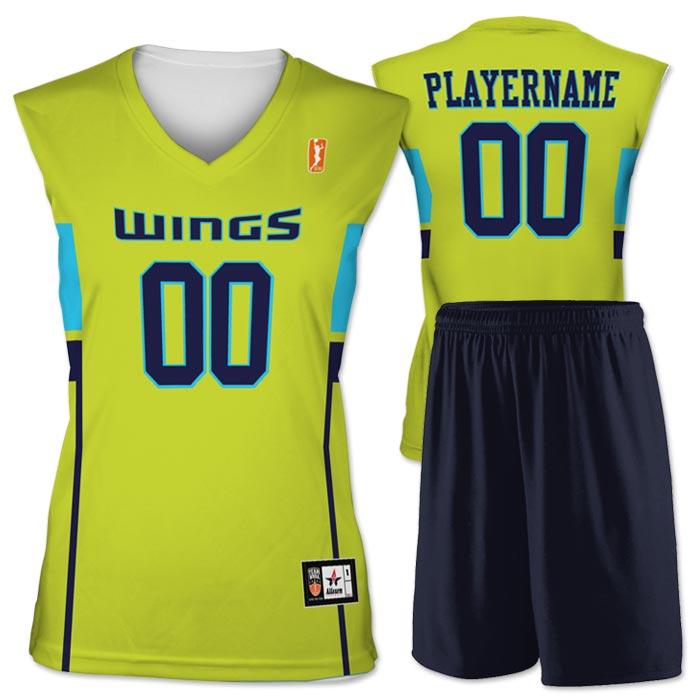 Flash WNBA Replica Basketball Jersey Wings