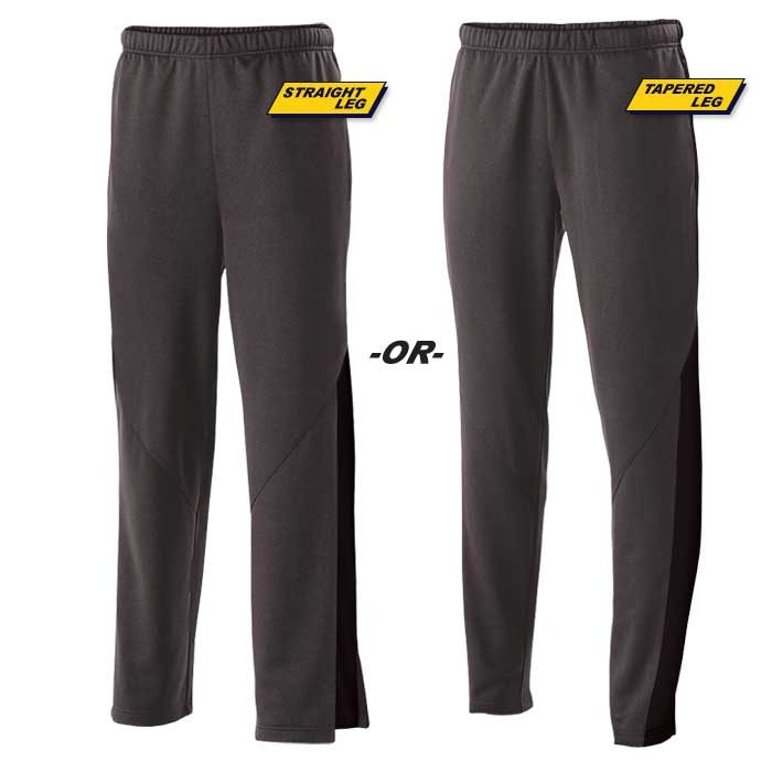 Black Flux Warmup Pants