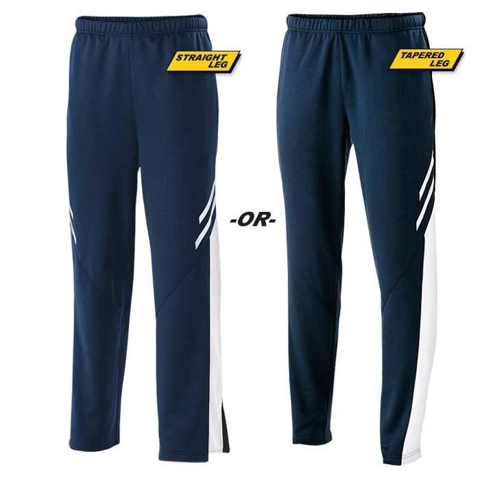 Navy Blue Flux Warmup Pants
