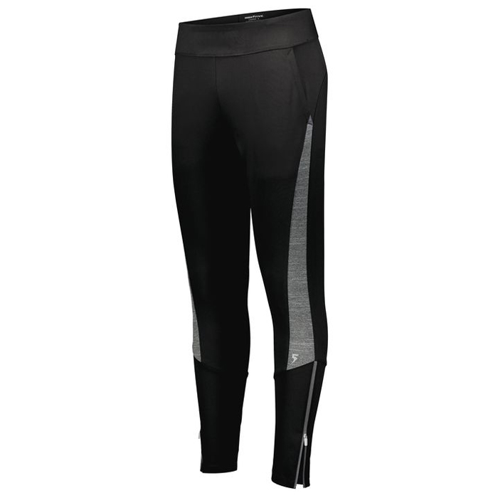 Ladies Free Form Warmup Pants in Black and Carbon