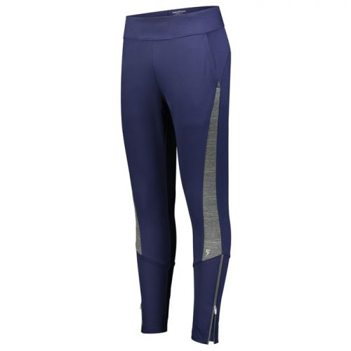 Ladies Free Form Warmup Pants in Navy Blue