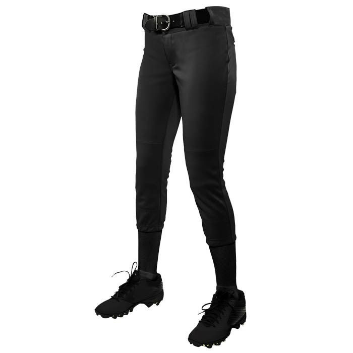 Fastpitch Legacy Solid Pants in Black