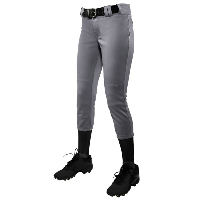 Fastpitch Legacy Solid Pants in Grey