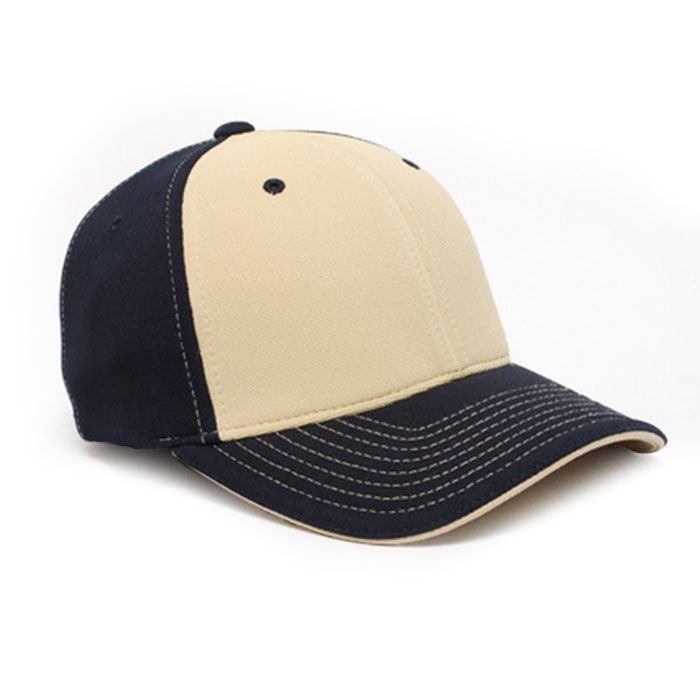 M2 embroidered performance cap navy vegas gold