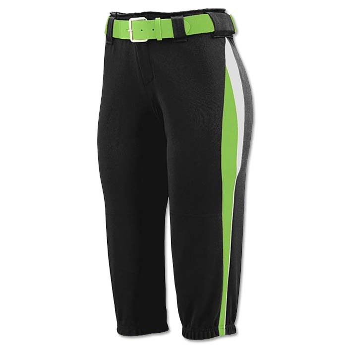 This is the Mystic Pant in Black, Lime, White