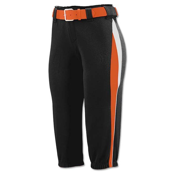 This is the Mystic Pant in Black, Orange, White