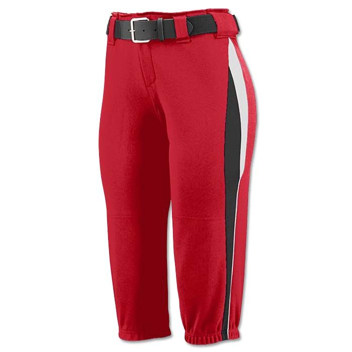 This is the Mystic Pant in Red, Black, White