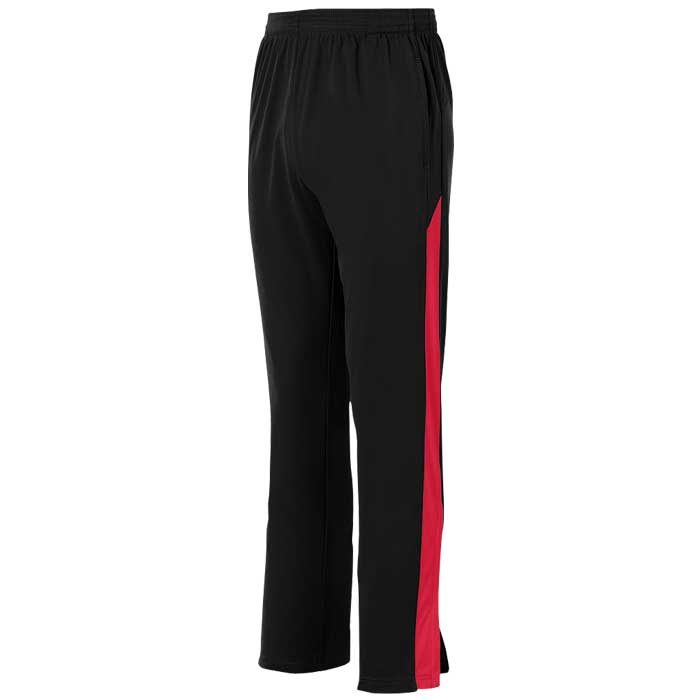 Black and Red Olympian 2.0 Warmup Pants