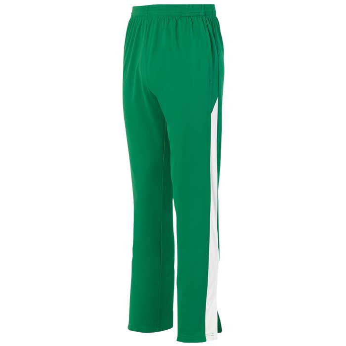 Kelly Green and White Olympian 2.0 Warmup Pants